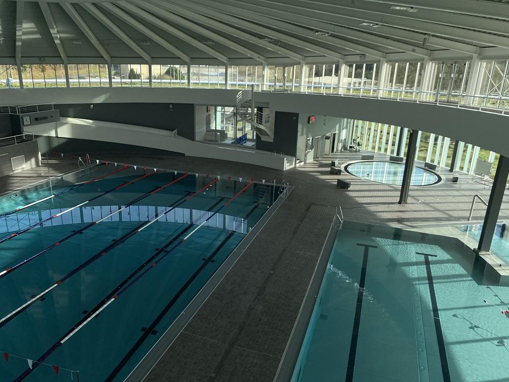 Vue générale centre aquatique